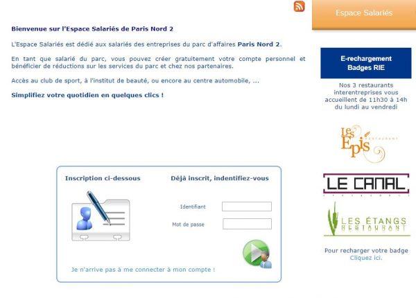 Paris Nord 2 - espace salarié